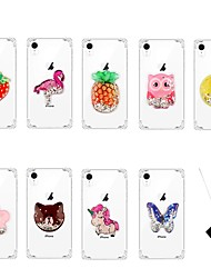 cheap -Case For Apple iPhone 11 / iPhone 11 Pro / iPhone 11 Pro Max Flowing Liquid / Pattern Back Cover Butterfly TPU