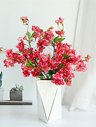 Недорогие -моделирование японской вишни поддельные цветок свадебные украшения искусственный цветок