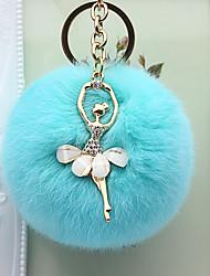cheap -Creative / Birthday Keychain Favors Plush / Metal RFID Keyfobs - 1 pcs All Seasons