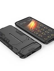 cheap -Case For Vivo VIVO X27 Shockproof / Ring Holder / Pattern Back Cover Armor Aluminium