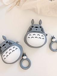 cheap -3D Cute Cartoon Hayao Miyazaki My Neighbor Totoro Earphone Case For Apple Air pods 1 2 Bluetooth Earphone Protective Case