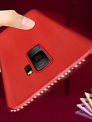 Недорогие -Роскошный bling diamond мягкий чехол для телефона tpu для samsung galaxy s10 plus s10 e s9 plus s8 plus s7 край со стразами рамка силиконовый противоударный защитный чехол