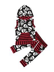 cheap -Baby Boys' Casual Print Print Sleeveless Short Short Clothing Set