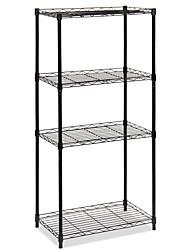 cheap -3-Shelf Shelving Storage Unit, Metal Organizer Wire Rack