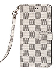 cheap -Case For Apple iPhone X / iPhone 8 Plus / iPhone 8 Card Holder Back Cover Geometric Pattern Hard PU Leather