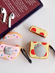 cheap -Bluetooth Wireless Earphone Case For AirPods 2 Case Silicone Cartoon Cute cat Cover Accessories for Apple Air pods Charging Box