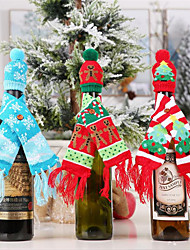 cheap -Holiday Decorations New Year's Christmas / Christmas Ornaments Decorative Sky Blue / Green / Red 1pc
