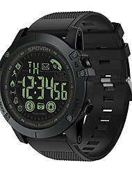 cheap -Smartwatch Digital Modern Style Sporty Silicone 30 m Water Resistant / Waterproof Heart Rate Monitor Bluetooth Digital Casual Outdoor - Black Blue Red