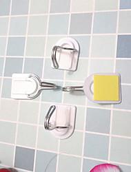 cheap -Plastics Multi-function Modern Contemporary Wall Hooks