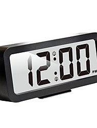 cheap -Easy to Set, Plumeet Large Digital LCD Travel Alarm Clock with Snooze Good Night Light, Ascending Sound Alarm & Handheld Sized, Best Gift for Kids