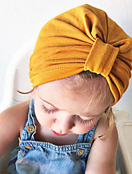 cheap -Newborn / Infant Unisex Solid Colored Hats & Caps Yellow One-Size