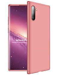 cheap -Shockproof Phone Case For Samsung Galaxy Note 10 Plus Note 9 Note 8 Case 360 Degree Full Protection Matte Hard PC 3 in 1 Back Cover