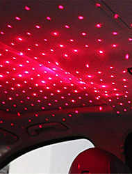 Недорогие -Светодиодный автомобиль крыша звезда ночник атмосфера галактики лампа usb декоративная лампа регулируемые несколько световых эффектов