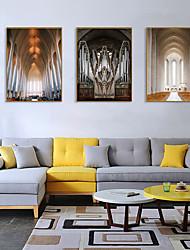 cheap -Framed Art Print Framed Set - Landscape Religious PS Photo Wall Art