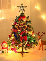 Недорогие -наборы для украшения / рождественские украшения рождественская елка пвх рождественская елка рождественские украшения