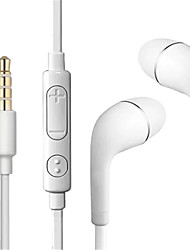 cheap -LITBest S4 Wired In-ear Earphone Wired Earbud Stereo with Microphone with Volume Control