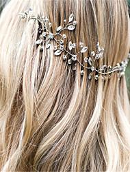 cheap -Crystal / Rhinestone / Alloy Headdress with Rhinestone / Crystal 1 Piece Wedding Headpiece