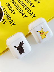 cheap -AirPods Case TPU Soft  Lovely Pattern Portable For AirPods1 AirPods2 (AirPods Charging Case Not Included)