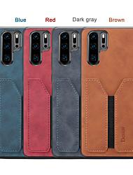 cheap -Denior Wallet Case For Huawei P30 / Huawei P30 Pro  PU Leather Slim Credit Card Back Case For Huawei P30 Pro / Huawei P30 Lite