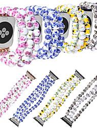 Недорогие -ремешок для часов для Apple Watch серии 5/4/3/2/1 яблоко ювелирный дизайн керамический браслет