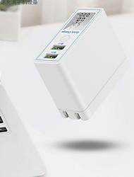 Недорогие -Интеллектуальное зарядное устройство USB x7b 2 настольных зарядных устройства ЖК-дисплей / со смарт-идентификацией / с быстрой зарядкой