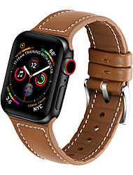 cheap -Silicone Leather Strap For Apple Watch Band 44mm/40mm/42mm/38mm Belt For iwatch Series 5/4/3/2/1 High Quality Bracelet
