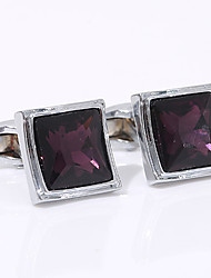 cheap -Cufflinks Classic Fashion Alloy Brooch Jewelry Silver For Wedding Party