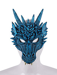 cheap -Cosplay Costume Mask Halloween Mask Inspired by Werewolf Scary Movie Purple Blue Halloween Halloween Masquerade Adults' Men's Women's