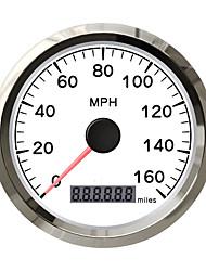 Недорогие -85 мм нержавеющая водонепроницаемая GPS спидометр цифровой датчик 0160mph для легкового автомобиля