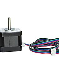 Недорогие -42x38mm nema 17 шаговый двигатель 1.5a 2 фазы 4 провода 1,8 градуса с 39,3 дюймовым кабелем для творчества cr-10 10s ender 3 3d принтера / экструдер с ЧПУ и ось y