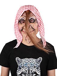 cheap -Mask Halloween Props Halloween Mask Inspired by Little Red Riding Hood Pink Masks Halloween Halloween Men's Women's