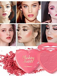 cheap -4 Colors Dry Casual / Daily / Convenient Blush China Glamorous & Dramatic / Fashion Waterproof / Youth Daily Wear Heart Shape Makeup Cosmetic