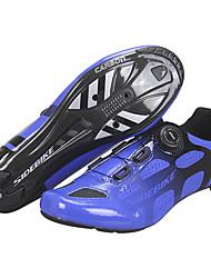 Недорогие -SIDEBIKE Взрослые Обувь для велоспорта Дышащий Шоссейные велосипеды Велосипедный спорт / Велоспорт Велосипеды для активного отдыха Синий Муж. Жен. Обувь для велоспорта