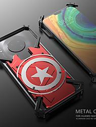 cheap -Case For Huawei Huawei Nova 4 / Huawei P20 / Huawei P20 Pro Shockproof Back Cover Solid Colored Aluminium