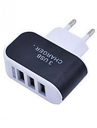 cheap -Phone Charger Portable Wall Charger Multi Port USB Charger 3 Ports Adapter For Cell phones