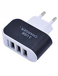 Недорогие -Зарядное устройство для телефона портативное зарядное устройство Multi Port USB зарядное устройство 3 порта адаптера для мобильных телефонов