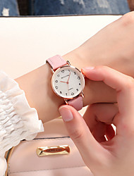 cheap -Women's Quartz Watches Analog Quartz Vintage Style Fashion Casual Watch / One Year / Stainless Steel / PU Leather