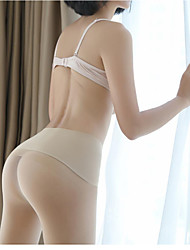 cheap -Women's Thin Pantyhose - Sexy / Lace 30D Khaki Black Beige One-Size