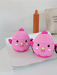 cheap -Cartoon Cute Chick Airpods1/2 Generation Wireless Bluetooth Headset set Silicone Sleeve Men and Women Personality Protective Sleeve