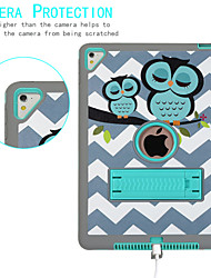 cheap -Case For Apple iPad Air / iPad (2018) / iPad New Air(2019) IMD / Embossed / Child Safe Full Body Cases Animal Silica Gel