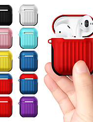 cheap -Applicable Airpods1/2 Generation Bluetooth Headset Protector Anti-Skid Anti-Fall Headset Set Travel Case Headset Set 1Pc