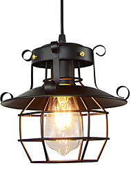 Недорогие -22 cm Подвесные лампы Металл Окрашенные отделки Винтаж / Северный стиль 110-120Вольт / 220-240Вольт