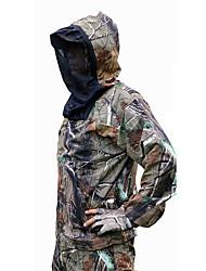 abordables -Homme Veste et Pantalon de Chasse Extérieur Etanche Coupe Vent Respirable Chaud Printemps Automne Hiver camouflage Ensembles de Sport Coton Camping / Randonnée Chasse Pêche Couleur camouflage / 5pcs