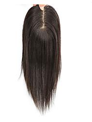 Недорогие -Бразильские волосы / Индийские волосы Полностью ленточные Прямой Бесплатный Часть Стрижка под мальчика Швейцарское кружево Натуральные волосы Жен. / Универсальные Мини / Безопасность / Кейс
