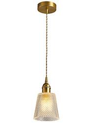 cheap -1-Light CXYlight 13 cm Pendant Light Copper Glass Geometrical Modern / Nordic Style Generic