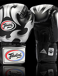 cheap -Boxing Gloves For Boxing Full Finger Gloves Protective PU(Polyurethane) Black