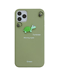 cheap -Case For Apple iPhone 11 / iPhone 11 Pro / iPhone 11 Pro Max Pattern Back Cover Animal / Cartoon PC