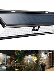 cheap -1pc 9 W Solar Wall Light Waterproof / Solar / New Design White 3.7 V Outdoor Lighting / Swimming pool / Courtyard 180 LED Beads