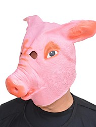 cheap -Mask Halloween Props Halloween Mask Inspired by Pig Scary Movie Pink Masks Halloween Halloween Men's Women's