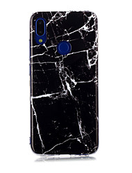 cheap -Case For Xiaomi Xiaomi Redmi Note 6 / Xiaomi Mi 6X(Mi A2) / Redmi Note 7 IMD / Pattern Back Cover Marble TPU
